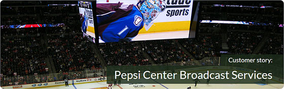 Pepsi Center Broadcast Services