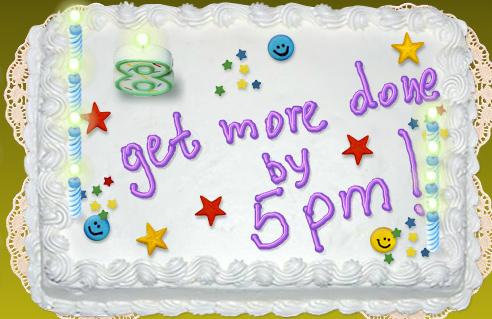 5pm celebrates 8 years!