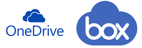 Onedrive and Box